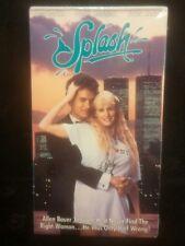 Splash VHS Movie Vintage Unopened Collectible Tom Hanks Daryl Hannah VCR Tape