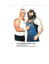 Hulk Hogan Hillbilly 1985 Vintage Titan Sports Vending Sticker Wrestling WWF WWE