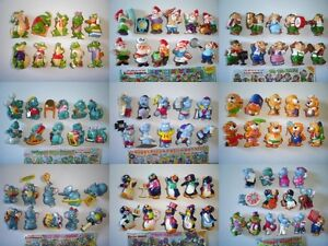 CHOOSE KINDER SURPRISE FIGURES COMPLETE SETS VINTAGE FIGURINES EGGS COLLECTIBLES