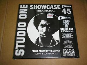 """v/a - Studio One Showcase 45 7"""" box set new sealed Soul Jazz ltd reggae"""
