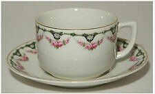 Bavaria Cup & Saucer Set with Roses