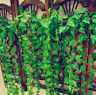 New 7.5ft Fake Foliage Dried Flower Leaf Plant Garland Decor Artificial Ivy Vine