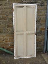 old victorian 4 panel door pantry large cupboard door ideal house restoration D6