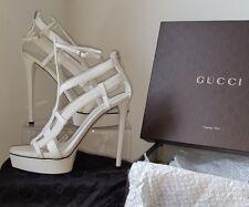 Iconic Gucci 'Daryl' Sandals Heels. Runway Celeb Collectors. BNIB.UK SZ 6.5 $930
