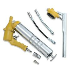 One-Hand Pistol Grip Air Grease Gun Delivers 1200-6000psi w/ extension Set