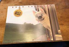 Walt Disney Bolt 2009 Calendar Fyc