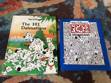 101 Dalmatians 2 Book Lot Walt Disney Hardcover 1986/1991 Good Condition