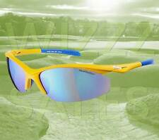 NEW Sunwise Peak Mk 1 Yellow - Sports & Outdoor Activity Protection 3 Sunglasses
