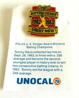 Pin #5  L.A. Dodger Award Winners Batting Champions 1983 Timmy Davis Unocal 76
