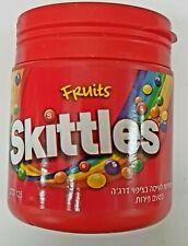 Brand New Wrigleys Skittles Fruits Candy Pack Of 6 Plastic Bottles kosher