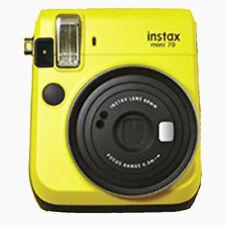 Fuji Instax Mini 70 Instant Camera and 10 Photos - Canary Yellow