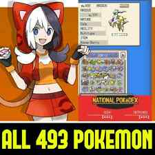 Unlocked AUTHENTIC HeartGold All 493 Legal Legit Pokemon Nintendo DS 3DS 2DS