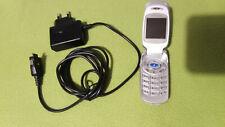 """Cellulare vintage da collezione """"SAMSUNG"""" con caricatore"""