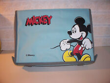DISNEY Blue Mickey Mouse Compartment CASE For Cars & Toys