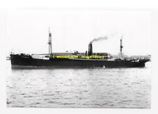 rp02008 - Clan Line Cargo Ship - Clan Mackay , built 1945 - photo 6x4