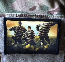 O Brother Where Art Thou? Movie Morale Patch Tactical Military Army Badge Hook