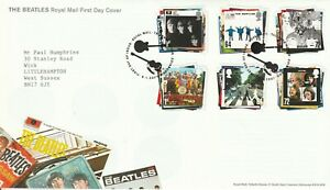 2007 THE BEATLES    FDC  FIRST DAY COVER   SUPERB
