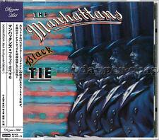 "The Manhattans-""Black Tie"": +6 Bonus Tracks 𝗦𝗘𝗔𝗟𝗘𝗗 CD Japan DIZZARE +OBI"