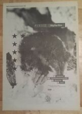 Pixies Dig for fire 1990 press advert Full page 27 x 38 cm mini poster