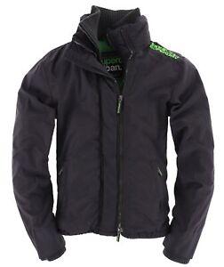 Superdry Herren Jacke Jacket The Windcheater Gr.M  Schwarz 111165