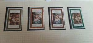 St. Kitts Nevis Anguilla 1970  Christmas Stamps