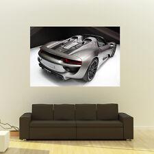 Poster of Porsche 918 Spyder Giant Huge 54x36 Inch Print 137x91 cm