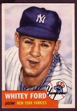 1953 TOPPS WHITEY FORD CARD NO:207 NEAR MINT