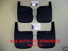 2007-2013 JEEP WRANGLER CUSTOM FIT MOLDED MUD FLAPS 4 PIECE SET 56141 57141