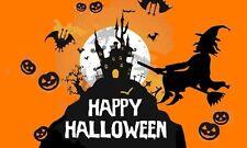 "Halloween Flag - 5 x 3"" - Happy Haunted House Skeleton Pumpkin Witch Decoration"