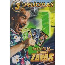 Coleccion Alfonso Zayas DVD NEW 3 Pk El Super Policia / Los Chuper Heroes