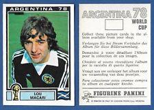 FIGURINA CALCIATORI PANINI ARGENTINA 78 NUOVA//NEW N.169 SCUDETTO MEXICO