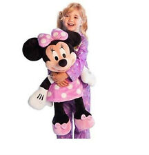 "NEW Disney World Store HUGE Minnie Mouse JUMBO 27"" Pink dress Plush toy Doll NWT"