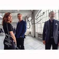Damian Lewis & Maggie Siff - Billions (83195) Autographed In Person 8x10 w/ COA