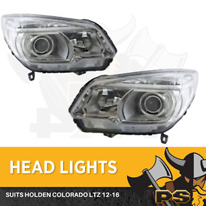 Holden Colorado LTZ Projector 2012-2016 Headlights Pair Left+Right Lamps