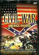Civil War:America Divided. 3 disc doco box. Brand New In Shrink. R4