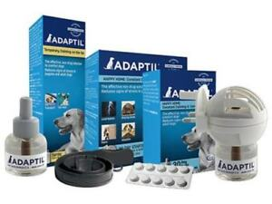 ADAPTIL Dog Stress Home Plug In Diffuser, Refill, Tablet, Fast Pet Calming