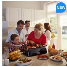 Philips Smokeless Indoor Grill, HD6370/91 Minimal Smoking and Splaterring