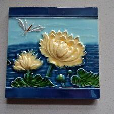 Originale Jugendstil Fliese Kachel art nouveau tile tegel