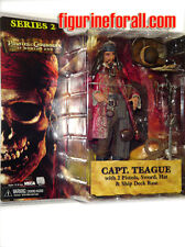 "NECA Pirates of Caribbean At World's End S2 CAPTAIN TEAGUE 7""Action Figure KEITH"