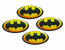4 Domed Stickers Decal Badge Auto Moto Tuning Car Laptop Bike Batman Movie Hero