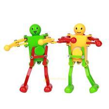 2PCS Clockwork Spring Dancing Robot Toy for kids Fancy Christmas Xmas Gift