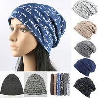 Men Women Hip-Hop Baggy Hat Warm Winter Cotton Ski Beanie Skull Cap Slouch Plain