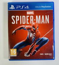 """Marvel """"Spider-Man (Sony PlayStation 4, 2018) sehr guter Zustand-funktioniert"""