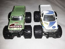 Maisto Tonka Monster truck Thunder Ford F-Series&Dodge Ram Pullback Action Metal