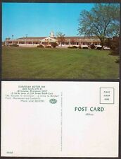 Old Wisconsin Postcard - Milwaukee - Suburban Motor Inn Motel, Hotel