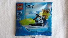 Lego 30015 City Town Jet Ski jetski male female Boy Girl minifigure polybag set