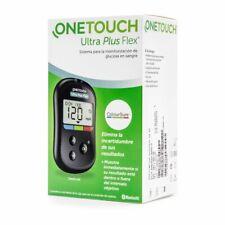 Medidor glucosa Glucometro OneTouch Ultra Plus Flex Pinchador