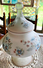 Exquisite Large Hand Painted Porcelain China Ginger Jar Nearly Translucent Vase