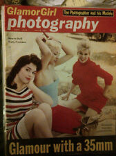 GLAMORGIRL PHOTOGRAPHY #1 September 1959 FN- Jayne Mansfield, June Wilkinson