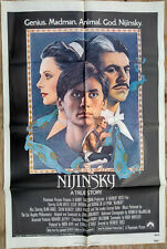 NIJINSKY 1980 Vintage Original 1 Sheet Movie Poster